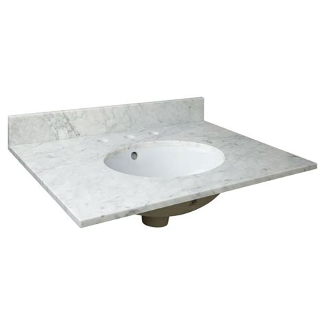 31 vanity top with sink 1000 ideas about marble vanity tops on