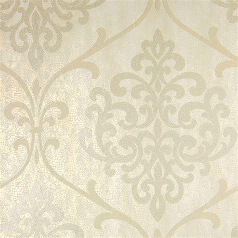 wallpaper glitter damask kenneth james ambrosia chagne glitter damask wallpaper