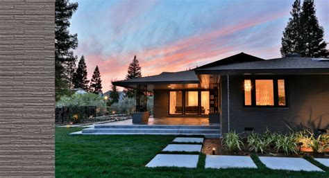 mid century modern ranch house transformed ranch house from mid century to modern