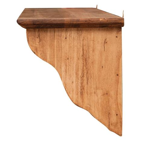 mensola appendiabiti appendiabiti con mensola da muro fatto a mano in legno