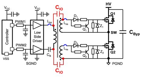 transistor mosfet gate driver circuit gate drive transformer vs high low side driver a detailed implementation power house blogs