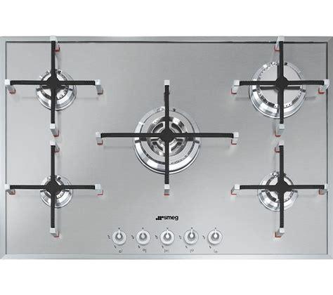 piano cottura smeg px750 buy smeg linea px750 gas hob stainless steel free