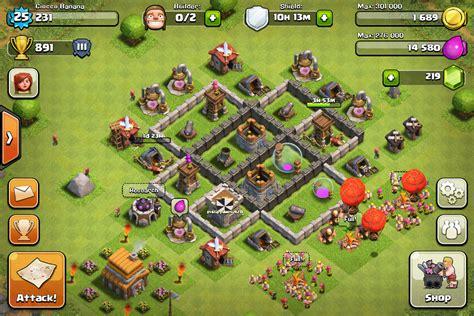 th4 layout untuk coc farming base untuk th4