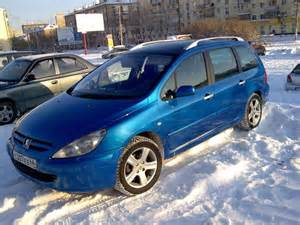 2002 Peugeot 307 Review 2002 Peugeot 307 Pictures