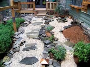 15 stone landscaping ideas quiet corner