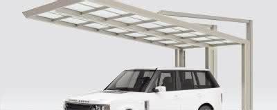 carport einseitig carports aus aluminium das gro 223 e angebot an alucarports