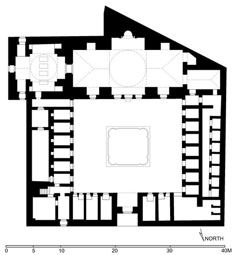 Mediterranean Floor Plans With Courtyard collections reference drawings of islamic monuments