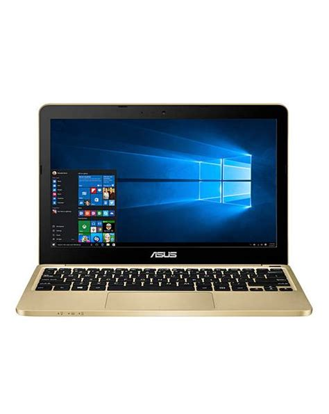 Laptop Asus Windows 10 asus 11 6in windows 10 gold laptop marisota
