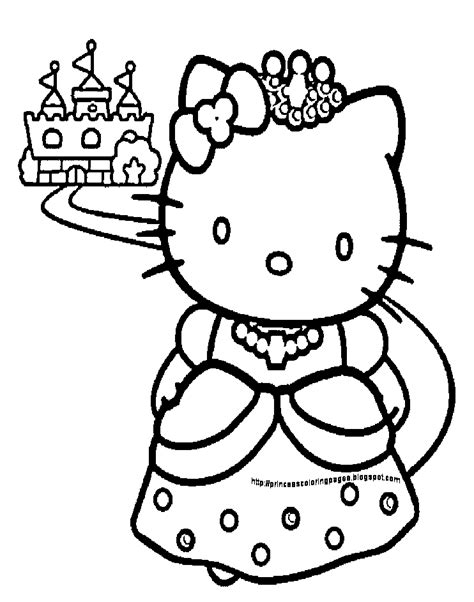 hello kitty painting coloring pages hello kitty coloring pages hello kitty princess coloring
