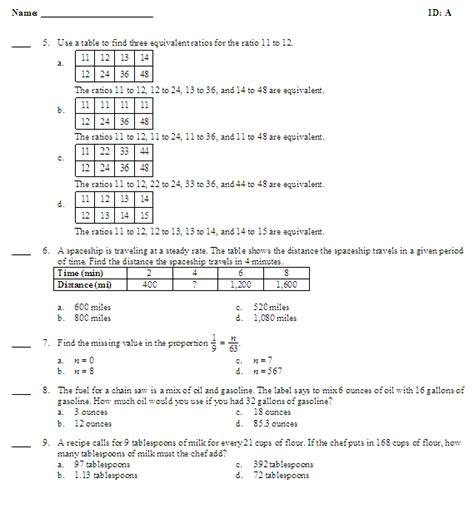 diagram ratios 6th grade 4 best images of diagram worksheets 6th grade