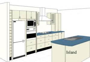 Kitchen Design With Island Layout by Island Kitchen Layouts