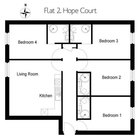 Home Floor Plans With Pictures hope court exeter exceptional student accommodation