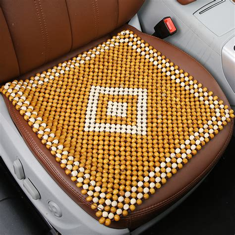 popular beaded car seat cushion buy cheap beaded car seat