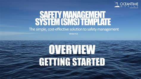 Safety Management System Sms Template Overview Tutorial Youtube Vessel Safety Management System Template