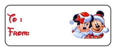 printable christmas tags mickey mouse disney christmas gift tags collection on ebay