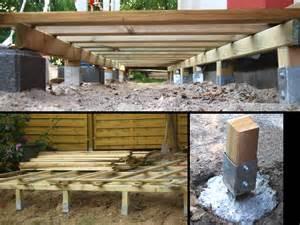 len selbst bauen terrasse holz unterkonstruktion anleitung bvrao