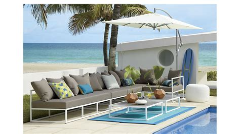 cb2 outdoor sectional casbah outdoor sectional cb2