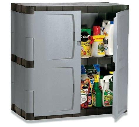 rubbermaid double door storage cabinet base
