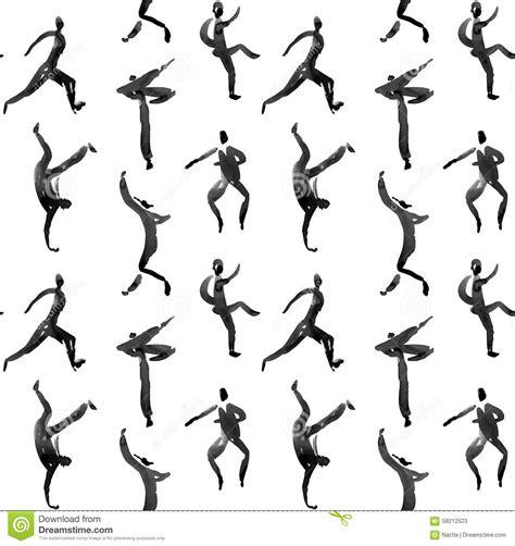 image human pattern pattern stock vector image 58212523