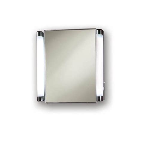 broan 455fl recessed cabinet with built in side lights