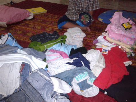 cara lipat baju cepat ajar anak lipat kain dengan mudah