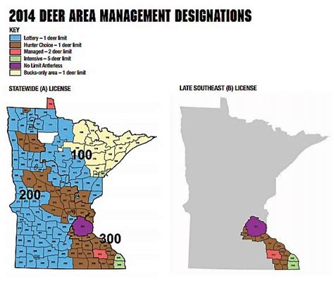 mn deer zone map dnr gives antlerless deer a in hopes of reviving