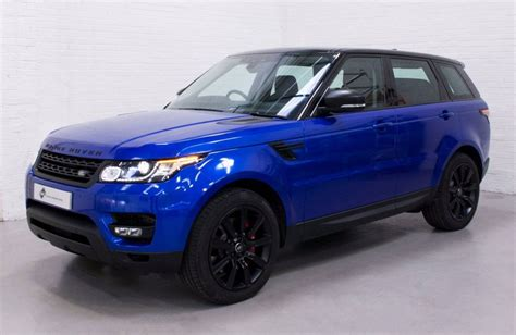 range rover sport blue range rover sport 3m gloss cosmic blue personal vehicle