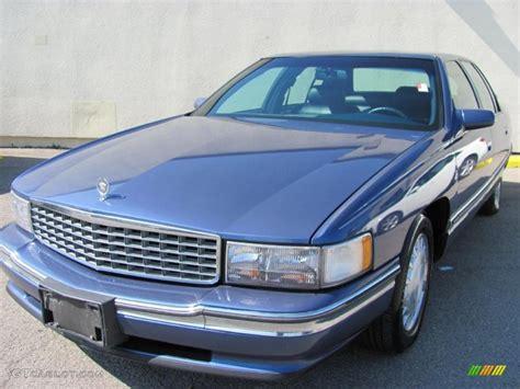 cadillac media 1996 medium adriatic blue metallic cadillac sedan