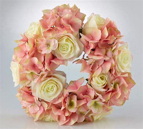 fiori di loto riccione ghirlanda avorio e ortensie fior di loto riccione