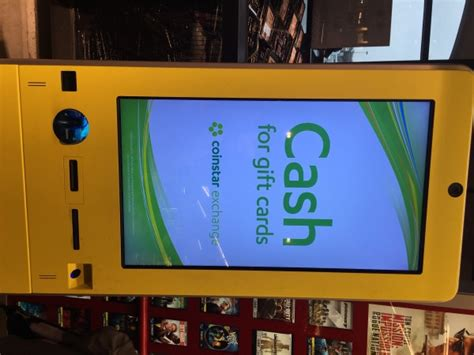 Stop And Shop Gift Card Kiosk - unwanted gift cards coinstar exchange to the rescue at your local grocer 183 dallas