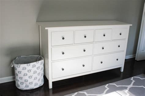 Large Scale Furniture nursery progress ikea hemnes dresser erin spain
