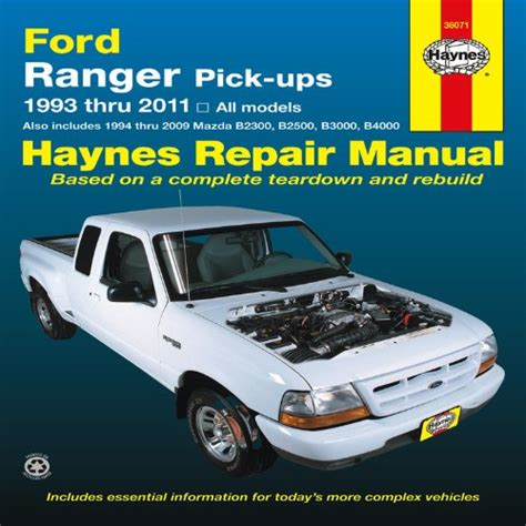 online car repair manuals free 1991 ford ranger on board diagnostic system 2005 automotive ford haynes manual pick ranger repair ups 1993