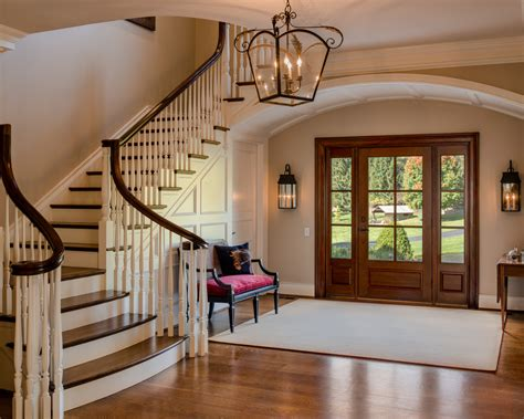 front entrance foyer front door foyer designs entry traditional with open