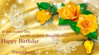 khushi for life birthday yellow rose wishes cards to