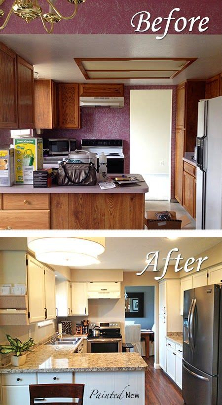 steps to painting kitchen cabinets kitchen makeover painted cabinets and counters with step
