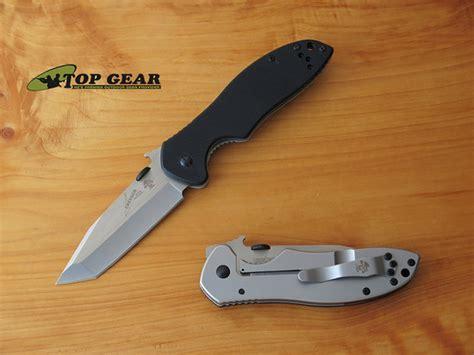 emerson knife company kershaw emerson cqc 7k tanto pocket knife 6034t
