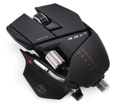 cyborg r a t 9 wireless gaming mouse gadgetsin
