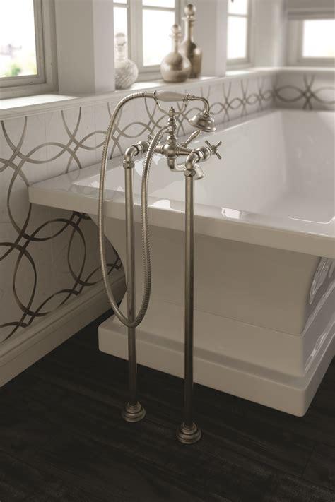 Moen Freestanding Tub Faucet by Moen Introduces Collection Of Freestanding Tub Filler Faucets