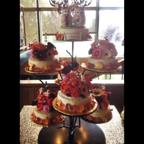 Gumpaste Toppers For Seven Wedding Cakes!   CakeCentral.com