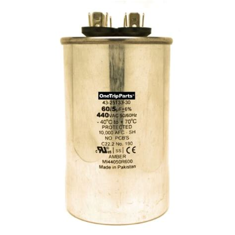 capacitor for york heat york heating and air conditioning units