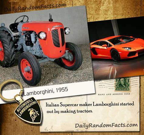How Lamborghini Started by Lamborghini Tractors