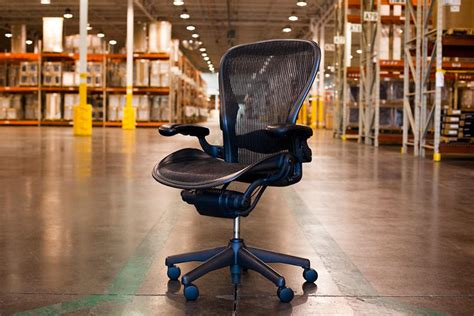 American Chair Factory by An American Made Miracle How An Aeron Chair Gets Built