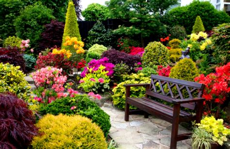 how to make a beautiful garden beautiful gardens with green shrubs and grass and outdor