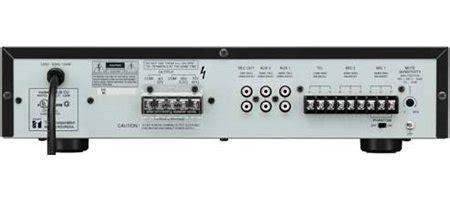 Mixer Lifier Toa Za 2240 240 Watt 1 toa a 2240 5 input 240 watt integrated mixer power