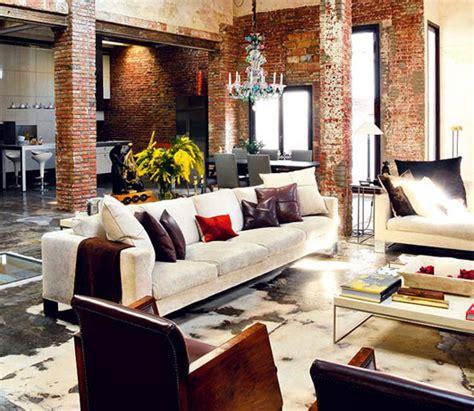 modern rustic home interior warehouse conversion