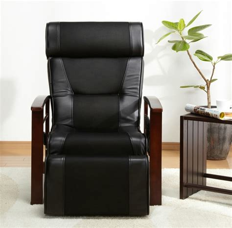 reclining armchairs for elderly aliexpress com buy height adjustable leather reclining