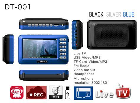 Tv Digital Dvb T2 dt001 dvb t2 800 480p mobile digital tv