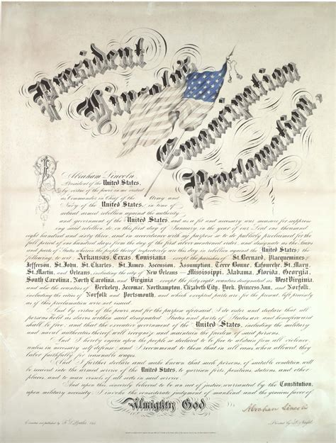 The Emancipation Proclamation Essay by Abraham Lincoln Emancipation Proclamation Essay