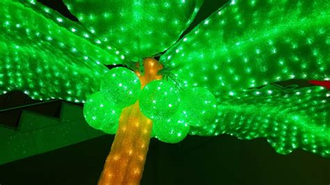 new product 3000leds lighted palm trees buy solar