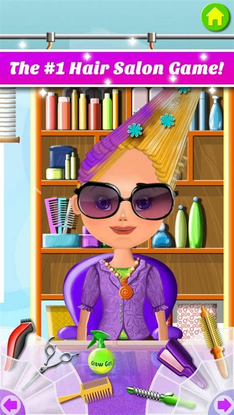 hairdresser job games hair salon makeover android apps on google play